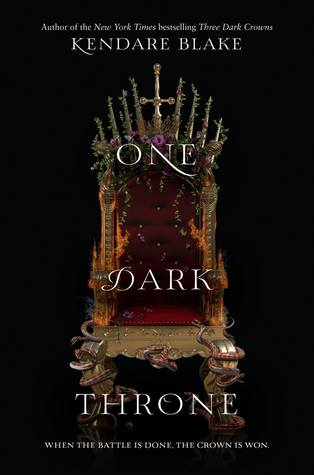 Welcome! + One Dark Throne by Kendare Blake